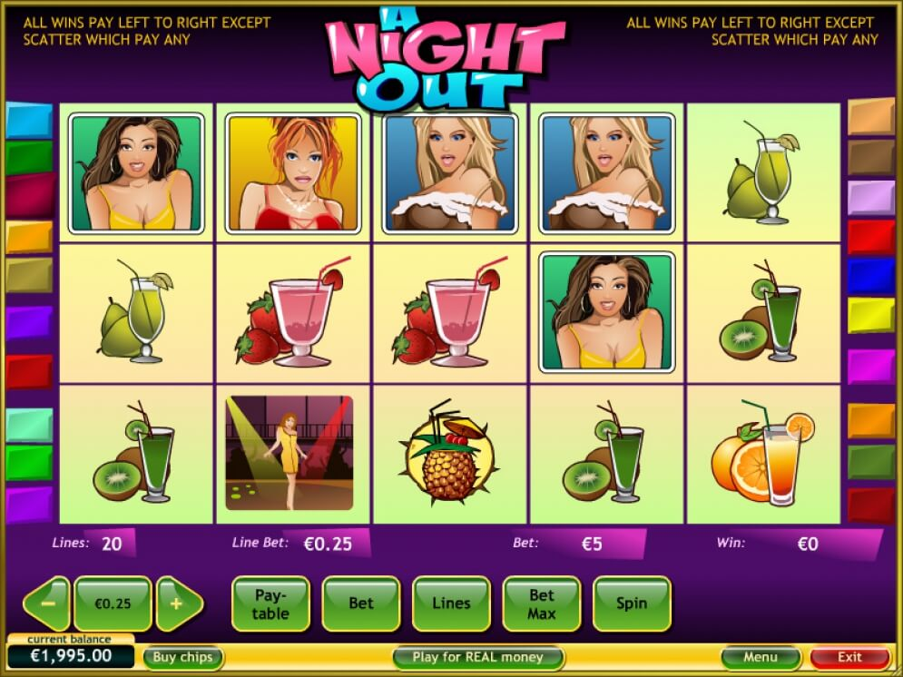 A Night Out Line Game
