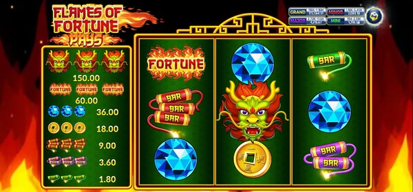Flames of Fortune game
